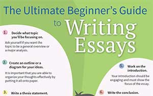 the ultimate beginner s guide to writing essays infographic