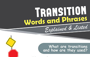 commonly used transition words