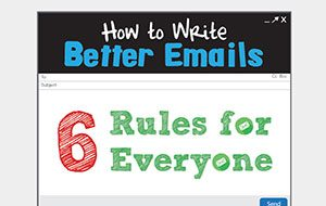 How to Write Better Emails: 6 Rules for Everyone (Infographic)