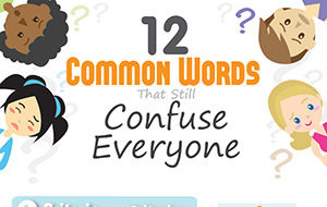 The  Most Controversial Essay Topics For  Infographic  Common Words That Still Confuse Everyone Infographic