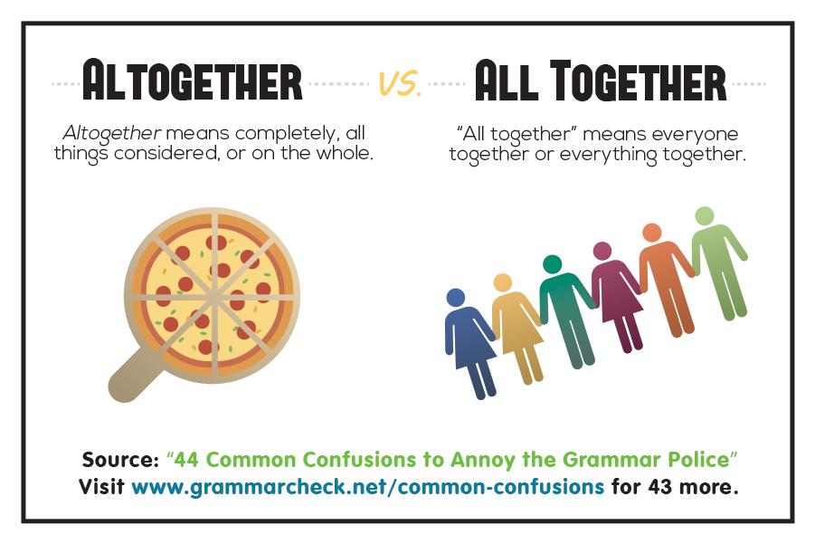 Altogether vs. All together
