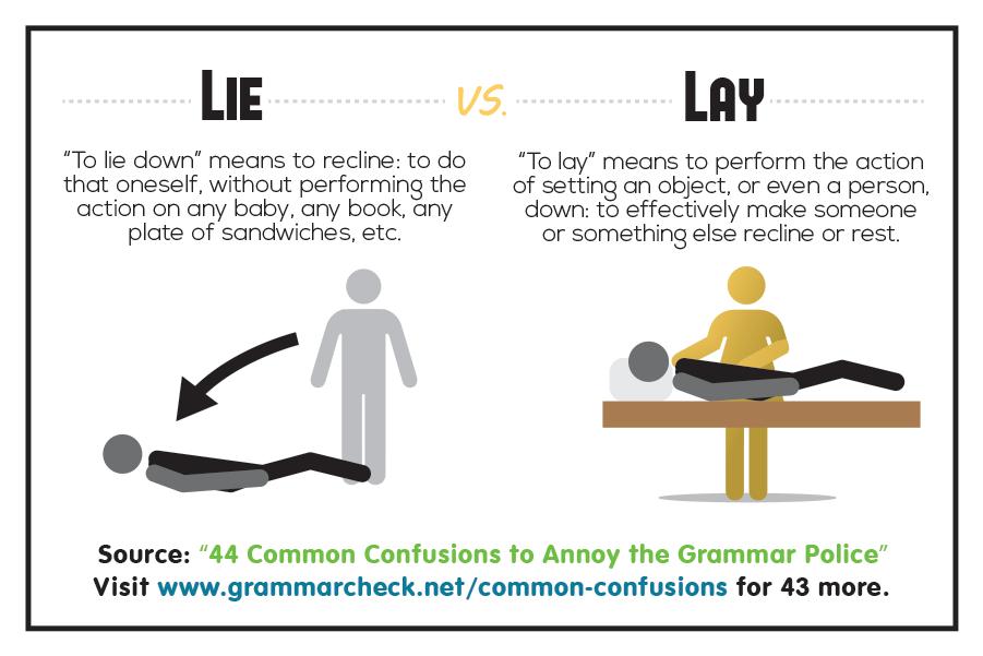 Lie vs. Lay